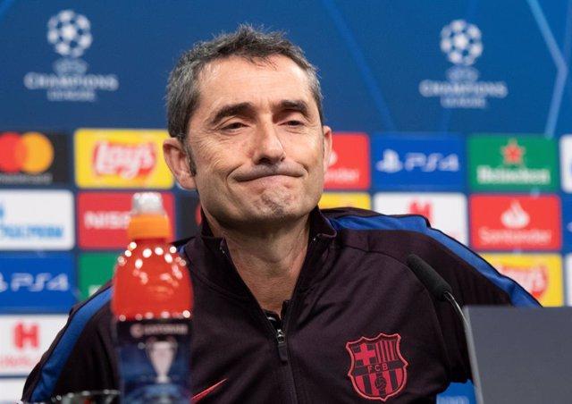 """Fútbol/Champions.- Valverde: """"El año pasado hicimos un gran partido en Milán sin"""