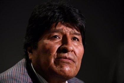Evo Morales pide una renta vitalicia para los familiares de los fallecidos en la represión en Bolivia