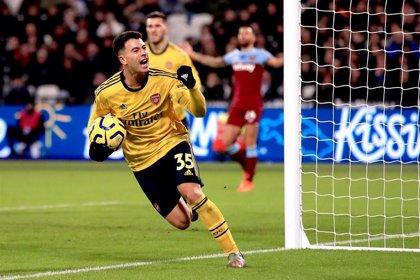 El Arsenal despierta ante el West Ham y pone fin a su mala racha