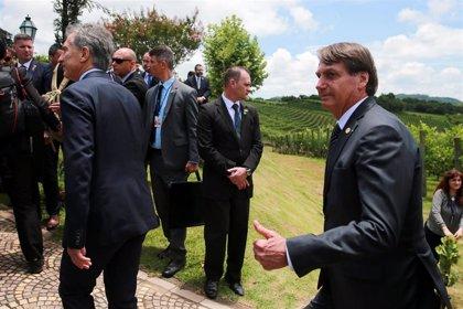 """Bolsonaro asegura que el nuevo Gobierno de Argentina no será un """"problema"""" para sus lazos económicos"""