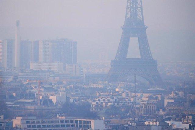 Contaminación en París