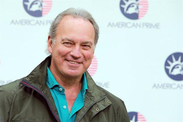 Bertín Osborne, en la presentación de 'American Prime'