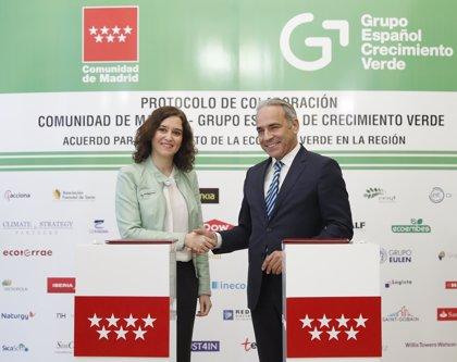50 empresas y el Gobierno regional firman un protocolo de colaboración para fomentar la economía verde
