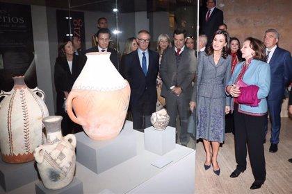 Más de 3.000 personas han visitado la exposición 'La Granada zirí y el universo beréber' inaugurada por la Reina Letizia
