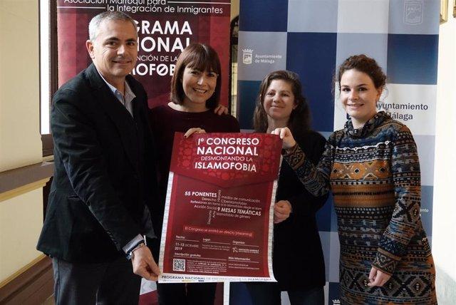 """El Ayuntamiento De Málaga Informa: 55 Ponentes Participarán En El I Congreso Nacional """"Desmontando La Islamofobia"""""""