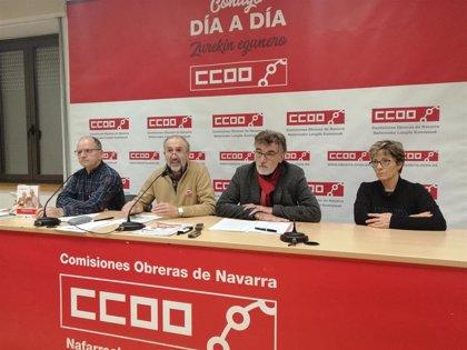 El 42,3% de las pensiones en Navarra están por debajo de 800 euros, según un informe de CCOO