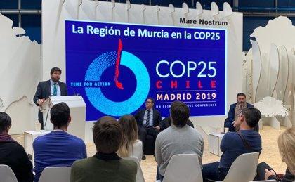 López Miras presenta la Estrategia para adaptar la Región al cambio climático y reducir emisiones un 26% en diez años