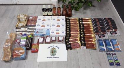 La Policía Local de Puerto Lumbreras detiene a tres personas por saquear cuatro supermercados