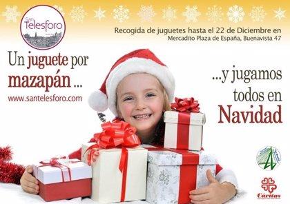 El obrador de mazapán San Telesforo inicia una campaña de juguetes a cambio de mazapán