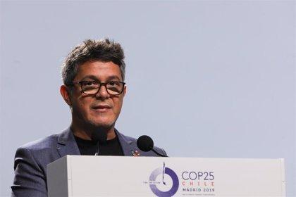 Alejandro Sanz recibe una lluvia de críticas tras su discurso en la Cumbre del Clima
