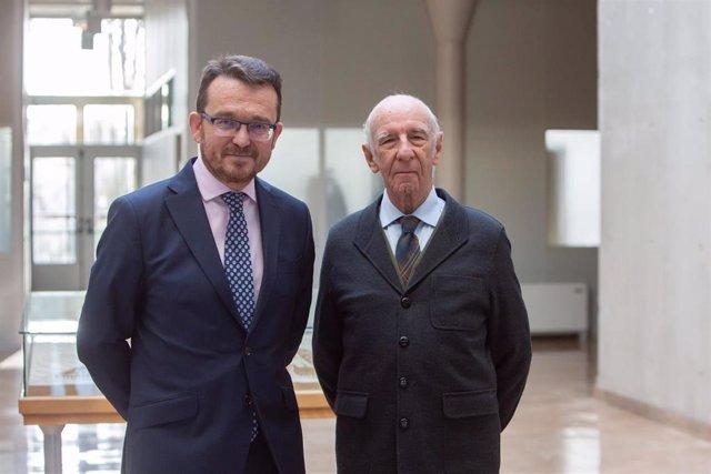 De izda. A dcha. Alejandro Torres y Joaquín Mencos.