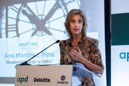 Martínez-Pina (CNMV) resalta el papel de la intermediación no bancaria como estabilizador de flujos