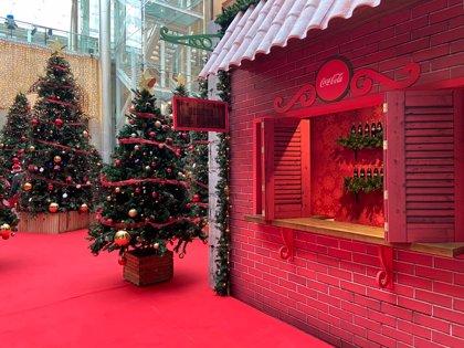El gran Belén de Madrid, el Bosque de los Deseos y la Casa de la Navidad ya se pueden visitar en Sol