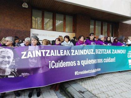 Finaliza sin avances la reunión entre sindicatos y patronales de residencias de Gipuzkoa