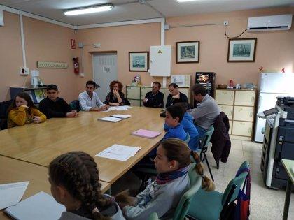 El Hospital San Agustín de Linares (Jaén) reúne a su Mesa de Participación Infantil