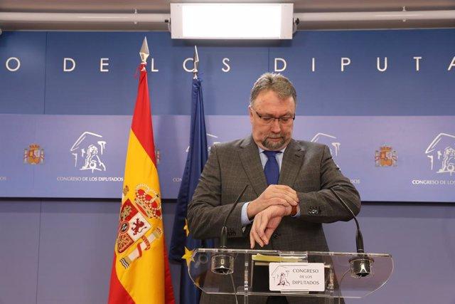 El diputado de Foro Asturias, Isidro Manuel Martínez Oblanca.