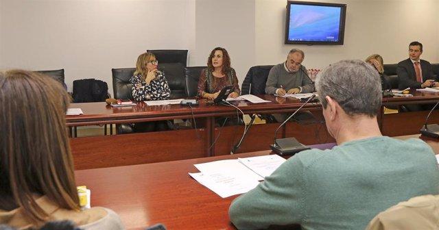 La consejera de Empleo y Políticas Sociales, Ana Belén Álvarez, ha presidido la reunión del Observatorio de la Vivienda