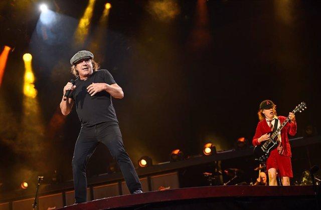 Concierto de AC/DC en el Estadio Wembley de Londres