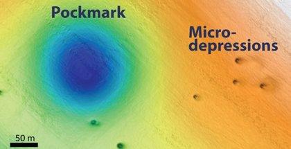 Inexplicados agujeros proliferan en el fondo marino ante California