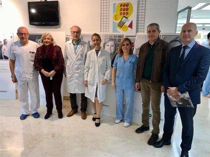 El Hospital de Riotinto en Huelva acoge la exposición nacional itinerante 'Héroes y Heroínas' sobre ostomía