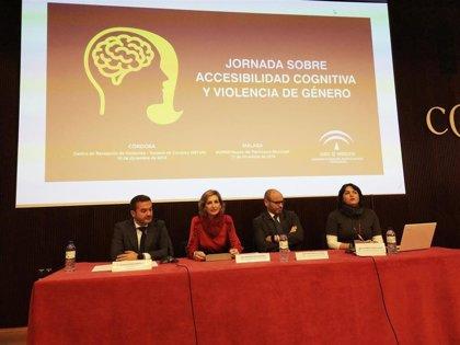 La Junta aborda la accesibilidad cognitiva y violencia de género en una jornada en Córdoba