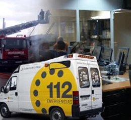Ambulancia SOS Rioja y recursos de emergencia