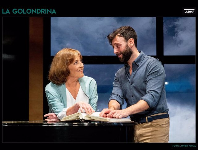 La obra 'La Golondrina', protagonizada por Carmen Maura y Dafnis Balduz