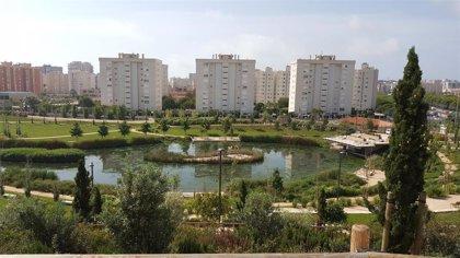 COP25.- El Parque La Marjal de Alicante, ejemplo en la COP por su capacidad de recoger 45.000 m3 de aguas pluviales