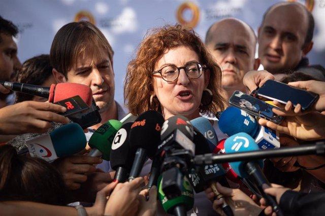 La eurodiputada de UPyD, integrada en la delegación de Cs en la Eurocámara, Maite Pagazaurtundúa