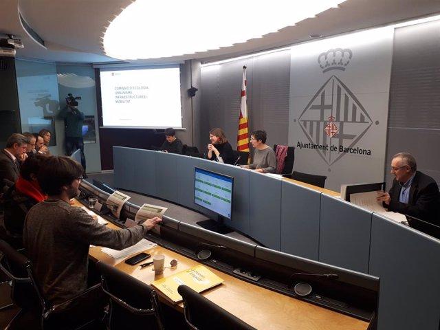 La Comissió d'Ecologia, Urbanisme, Infraestructures i Mobilitat // Europa Press.