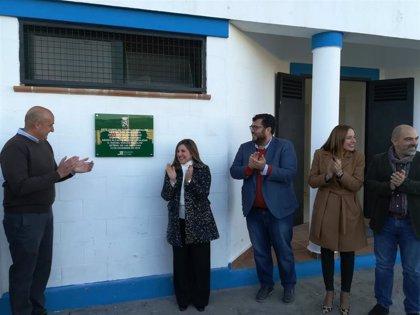 Setenil cuenta con un nuevo campo de fútbol gracias a la financiación de la Diputación de Cádiz