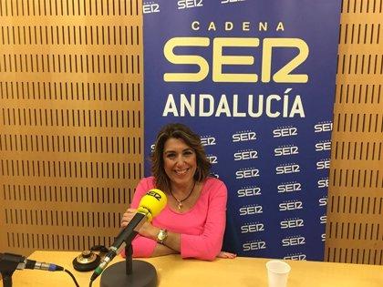 """Susana Díaz ve """"ridículo"""" que PP-A """"mire qué pasó hace veintitantos años"""" y """"difame"""" a PSOE-A para tapar sus carencias"""""""