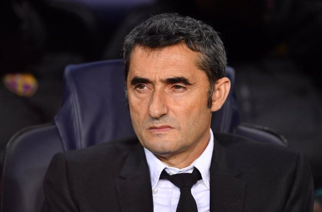 Ernesto Valverde, técnico del FC Barcelona
