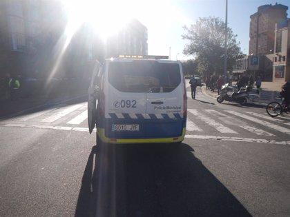 Atropellado un matrimonio en un paso de peatones en Pamplona