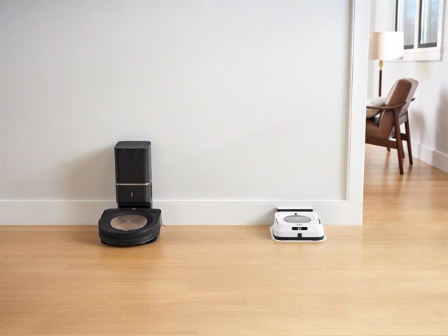 Robot aspirador Roomba S9+ y friegasuelos Braava jet m6