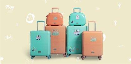 Gabol lanza al mercado las maletas exclusivas de Mr. Wonderful para viajar con buen rollo