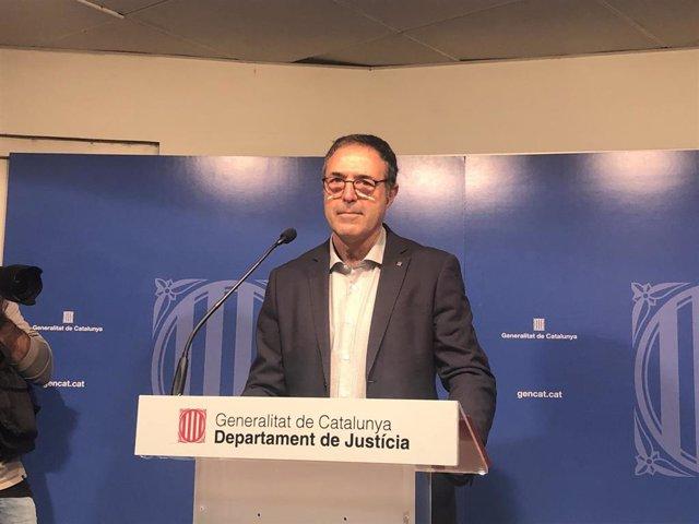 El secretario de Medidas Penales, Reinserción y Atención a la víctima de la Conselleria de Justicia, Amand Calderó.