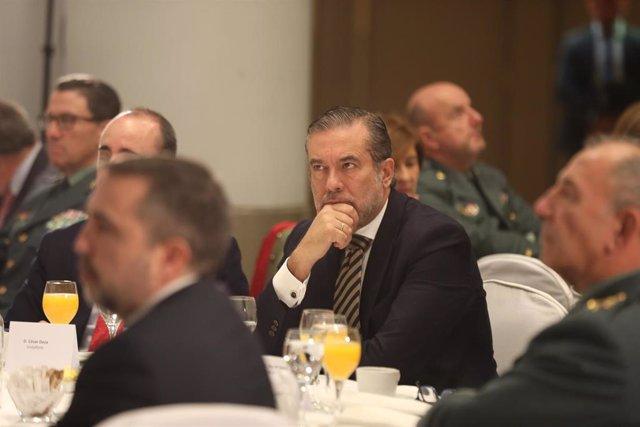 Imagen de recurso del consejero de Justicia, Interior y Víctimas del Terrorismo del Gobierno de la Comunidad de Madrid, Enrique López.