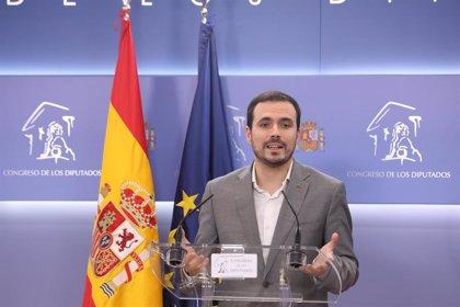 """Garzón dice que faltan """"algunos flecos"""" de la negociación de PSOE y ERC y pide """"paciencia"""""""