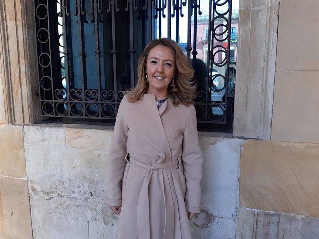 María Teresa Mallada, portavoz parlamentaria del PP en la Junta General del Principado de Asturias