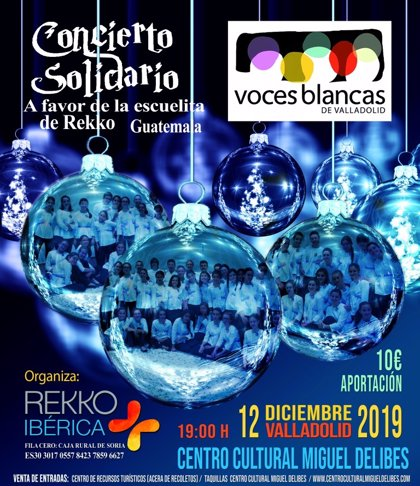 Voces Blancas protagoniza este jueves en Valladolid un concierto benéfico a favor de la Escuelita de Guatemala