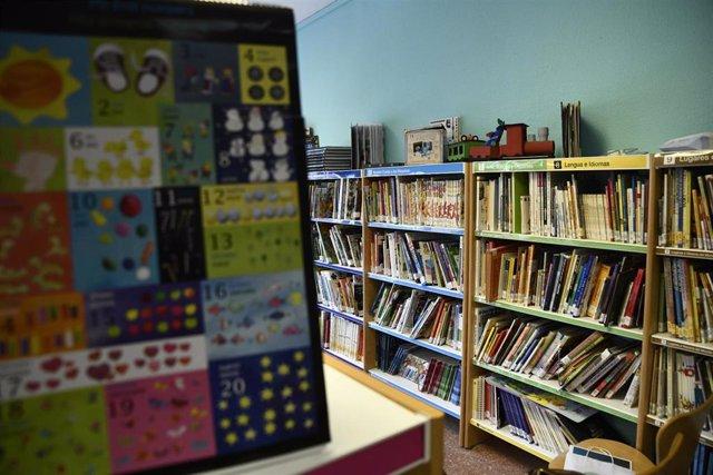 Biblioteca de un colegio
