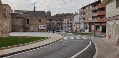 La Puerta Berrozana de Plasencia luce ya su nuevo aspecto tras concluir las obras de mejora del Edusi