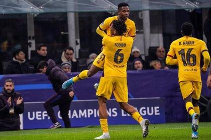 Ansu Fati, otra perla rauda en marcar en la Champions