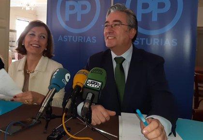 """El PP buscará vía enmienda llegar a los 15 millones de inversión """"real"""" del Principado en la ciudad"""