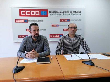 """CCOO y UGT advierten de las consecuencias """"catastróficas"""" de la subasta eléctrica y anuncian nuevas movilizaciones"""
