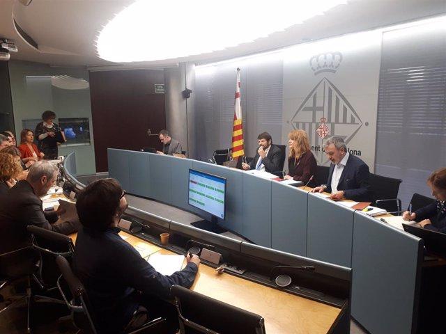 La comissió de Presidncia, Drets de Ciutadania, Participació, Seguretat i Prevenció de l'Ajuntament de Barcelona.