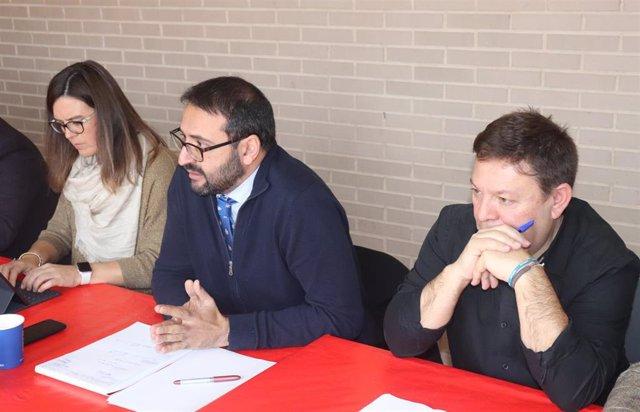 El secretario de Organización del PSOE, Sergio Gutiérrez.