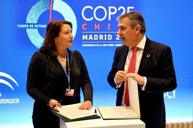 Nota De Prensa Consejería De Agricultura, Ganadería, Pesca Y Desarrollo Sostenible (Cop25 Convenio Endesa)
