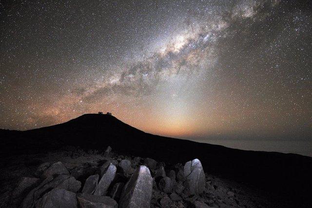 Panorámica del disco de la Vía Láctea